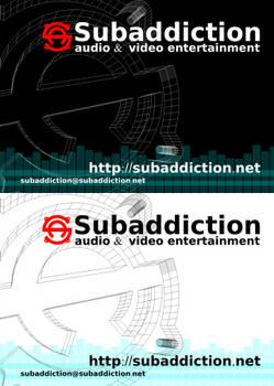 Subaddiction Sticker 2k9