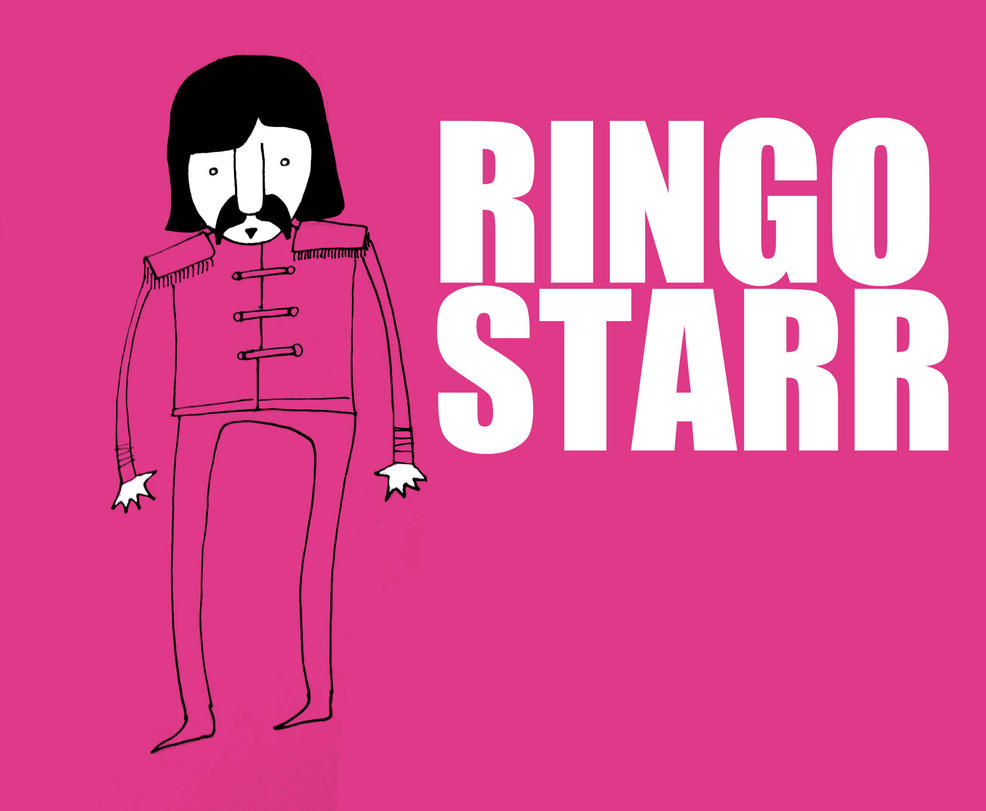 Ringo-starr by edsonhcs