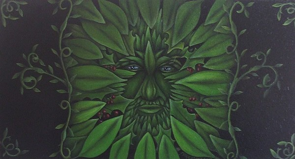 The Green Man by Dramamask2010