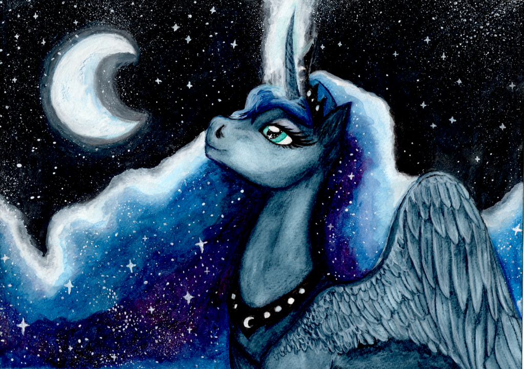 Princess Luna - Starwalker by Leafstormy