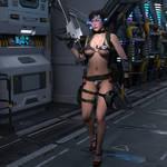 Kayla Sexy Soldier3