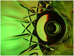 Crystal Green Burst