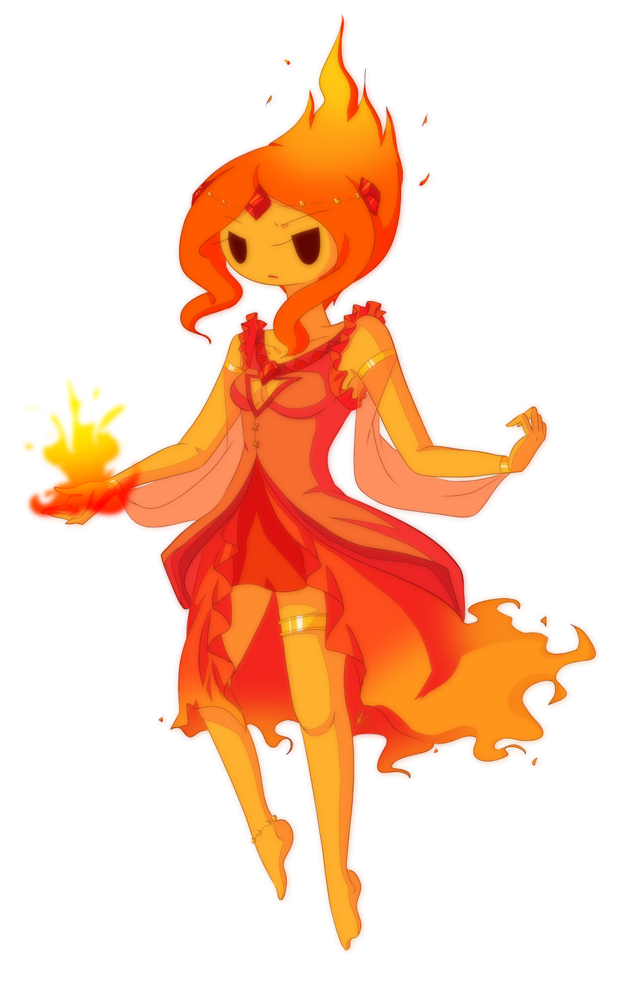Flame Princess by piketta on DeviantArt