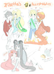 My Adventure Time Ships by piketta