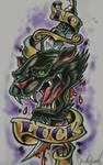 panther tattoo design