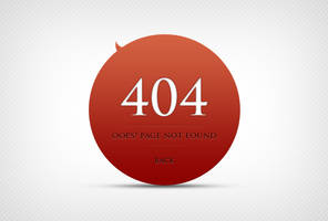 404 Error Page Design by freebiesgallery