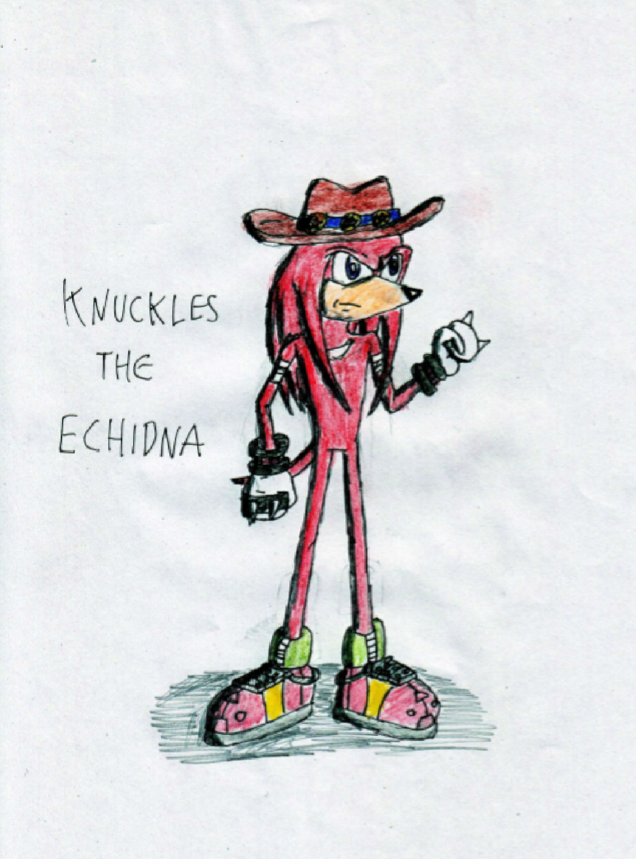 Knuckles the Echidna (StH Legends revamped)