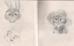 Judy Sketches