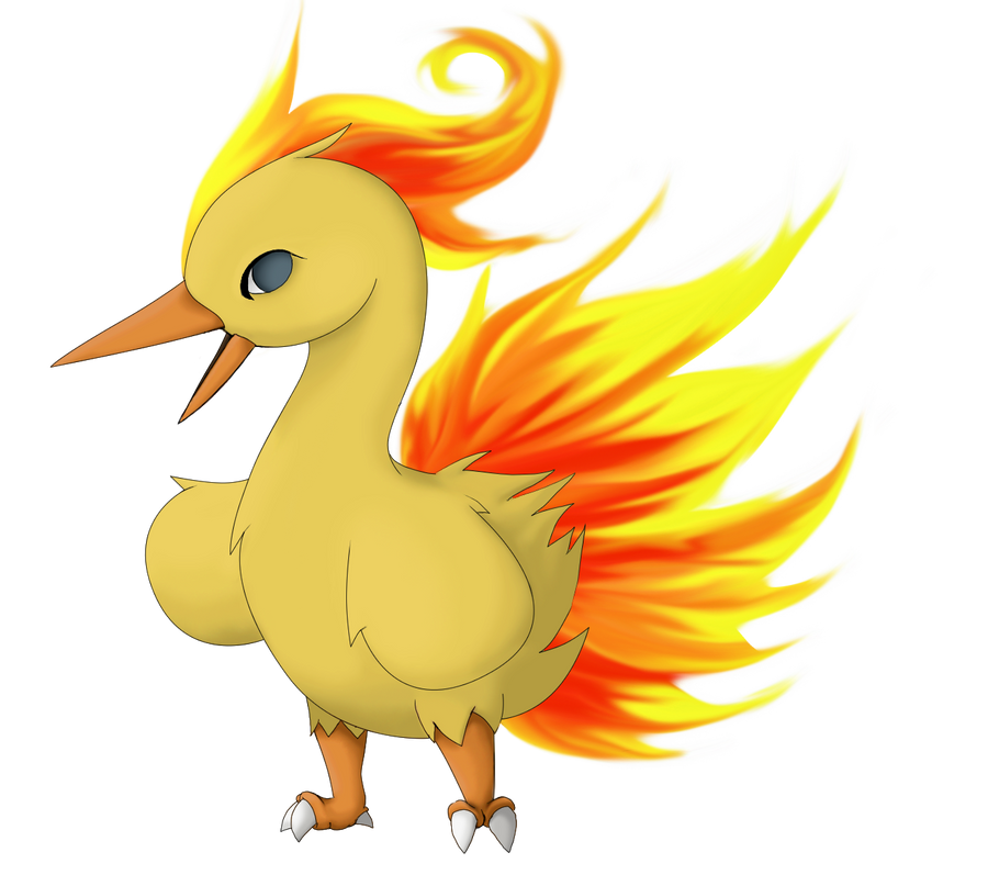 Pre-Evo of Moltres by Twime777 on DeviantArt