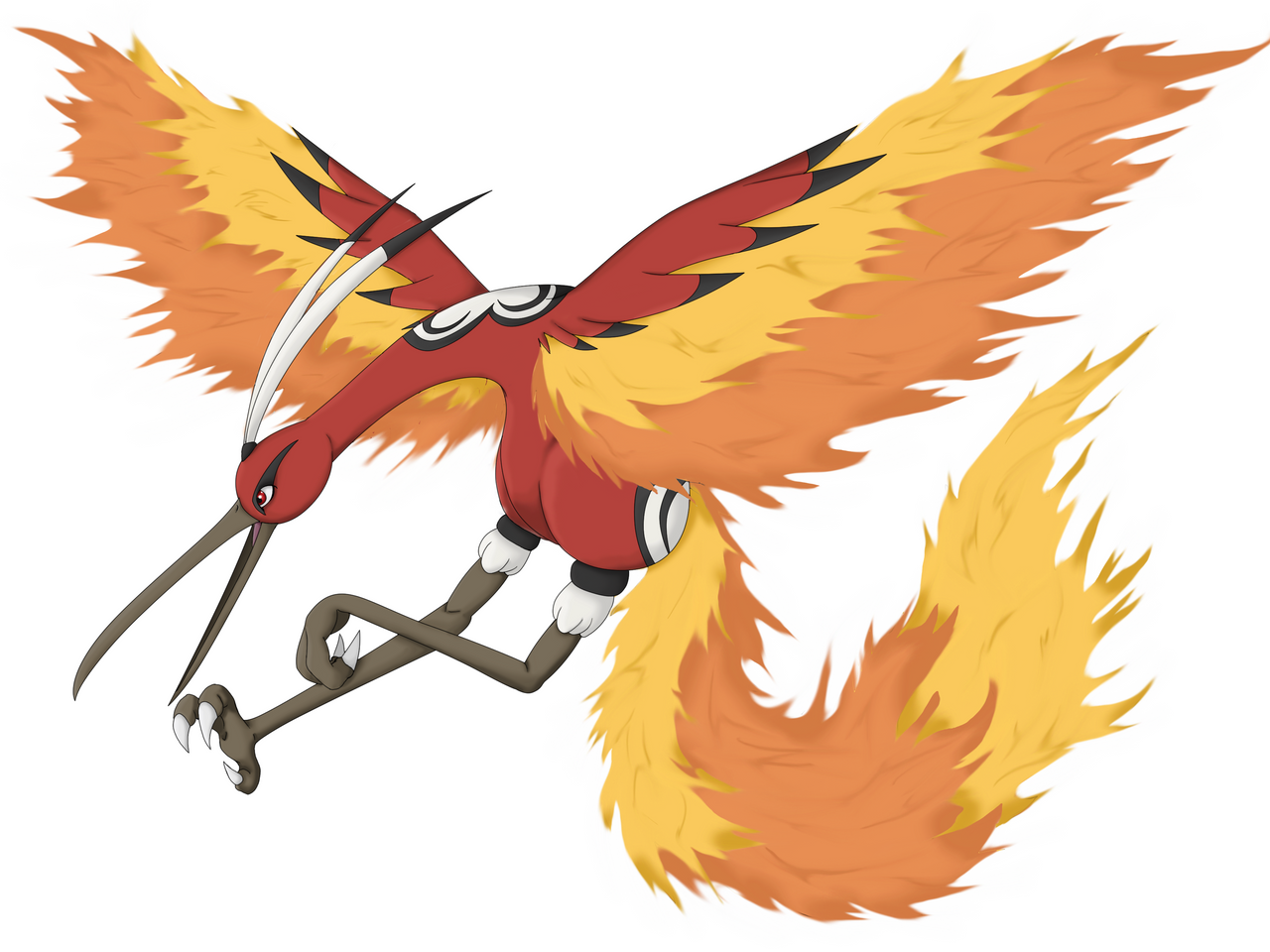 Evoultion of Moltres by Twime777 on DeviantArt