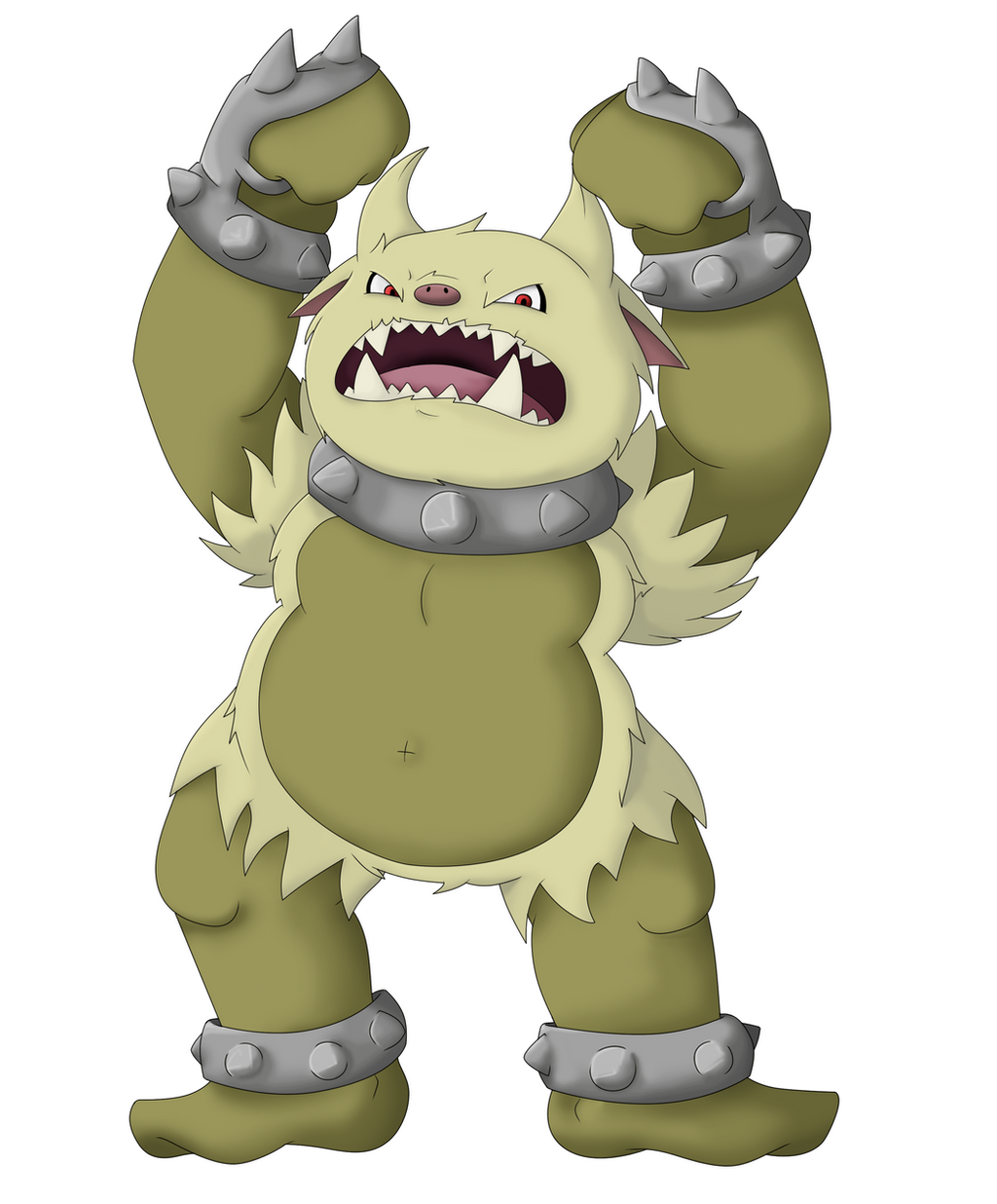 Evolution of Primeape by Twime777