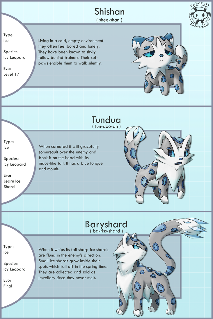 New Snow Leopard Fakemon by Twime777