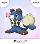 Popplio + Rockruff Fusion