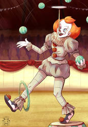 Life's a circus and I'm the clown by Twime777