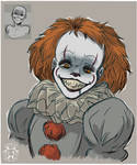 Expression Challenge - Unhinged Pennywise