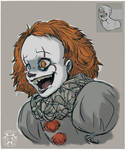 Expression Challenge - Mad Laugh Pennywise