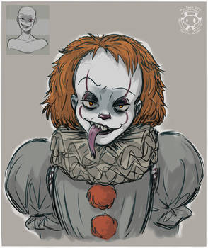 Expression Challenge - Forked Tongue Pennywise