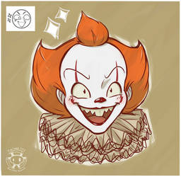 Expression Challenge - Excited Pennywise