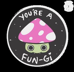 Little Mushroom Badge