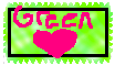 I love green stamp FREE by JDevivo