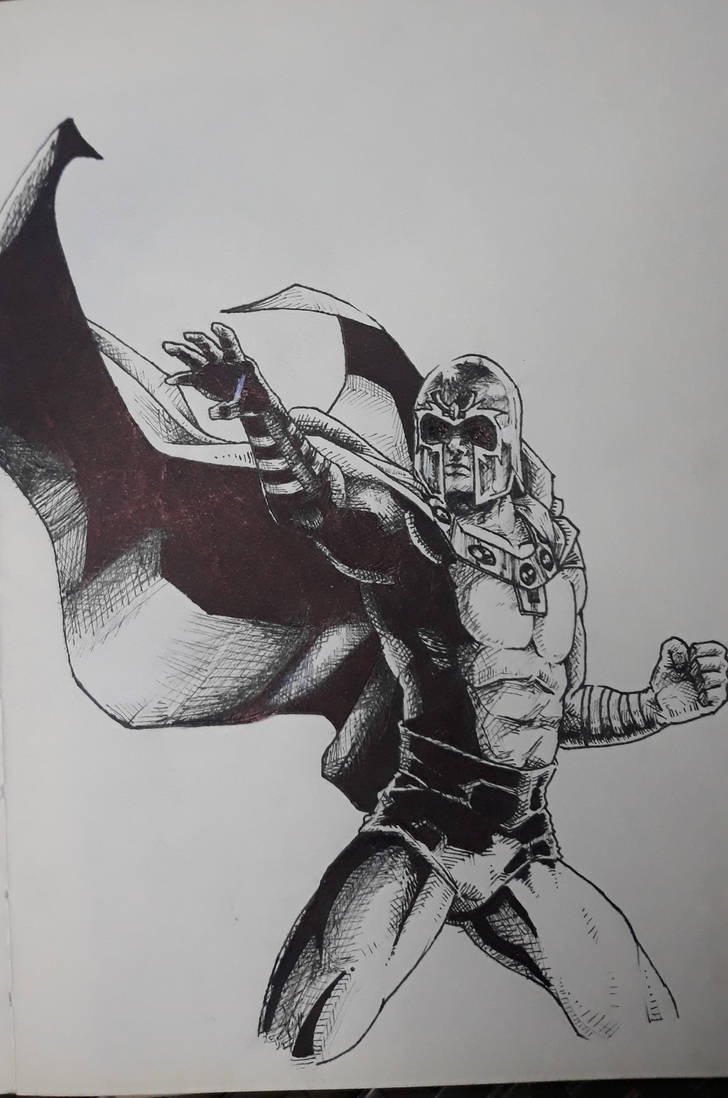 Magneto, Master of Magnetism!