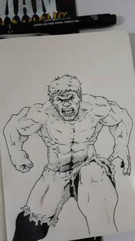 The Incredible Hulk!