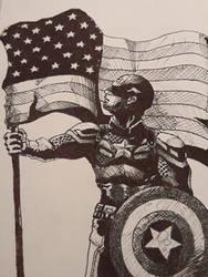 Captain America - Flag Bearer