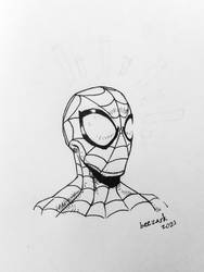 Sketch Challenge: Spider-Man