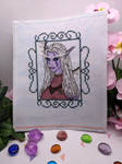 Yagil Bladeleaf cross stitch by Damera6