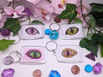 Eyes keychain by Damera6