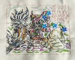 Zogran and Yllort cross stitch Magic by Damera6