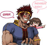 Honoka's new friend