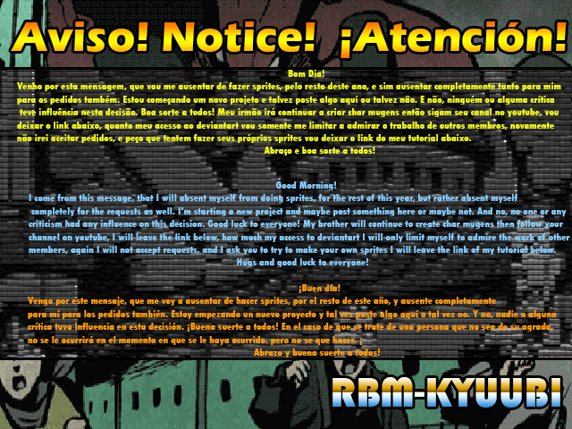 Notice by RBM-Kyuubi