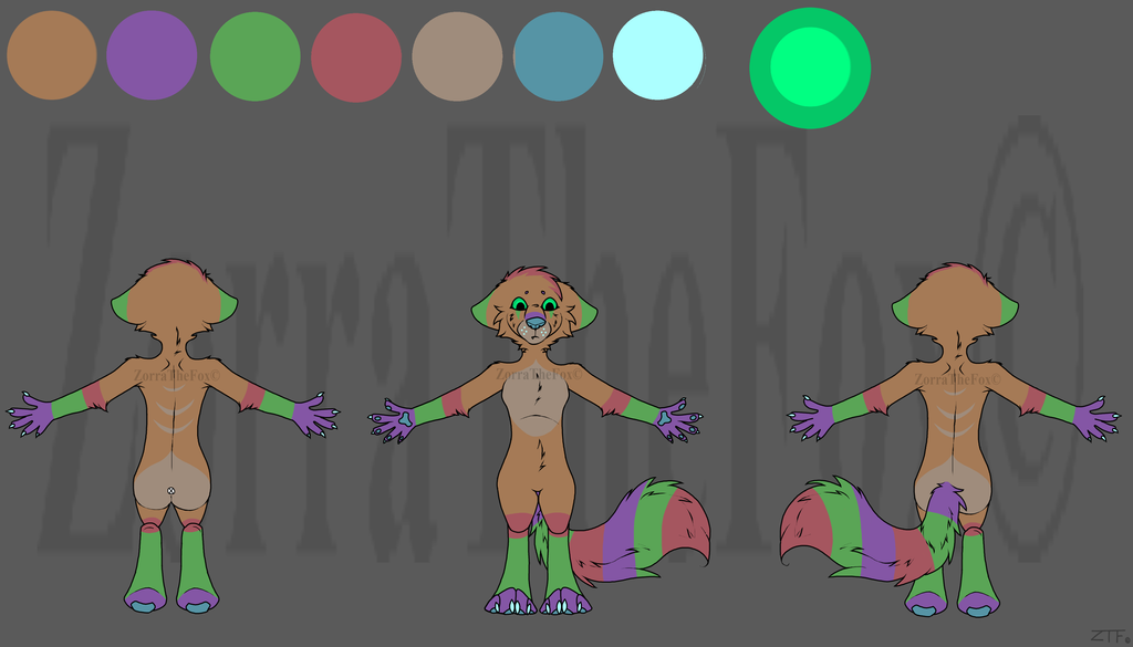New Adoptable (POINTS OR PAYPAL) [OPEN] Read Desc. by ZorraTheFox