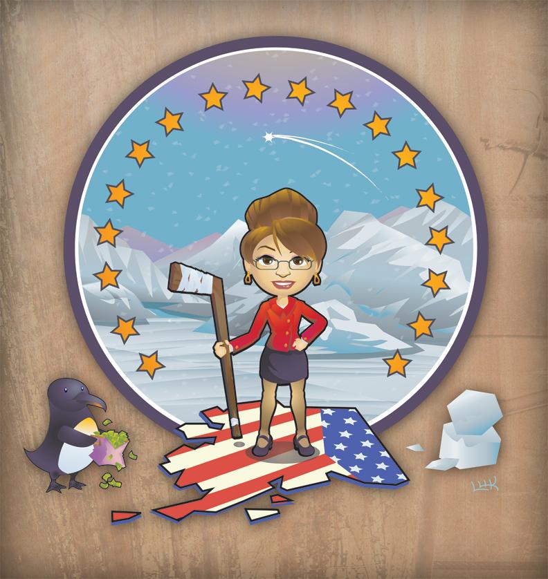 Sarah Palin by PigeonKill