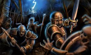 Diablo 2 Blizzard Fan Art by BrianLukArt