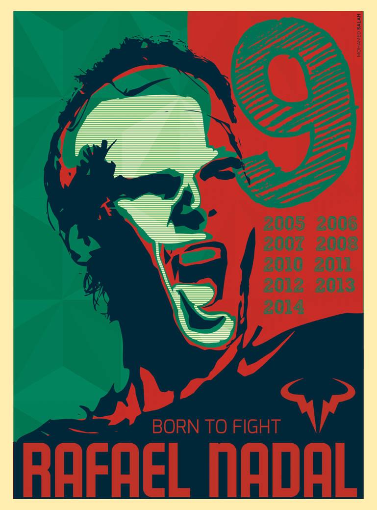 Rafael Nadal Motivation Poster By Mohamedphoenix On Deviantart
