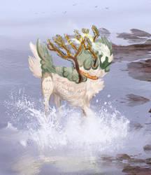Splashy fishy