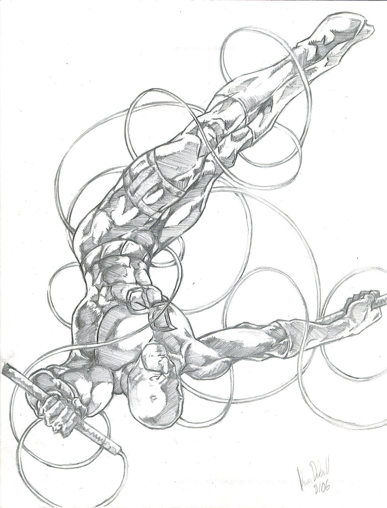 Deviantart coloring clubs - Marvel Comics Club 14 0 Daredevil By Kevman87