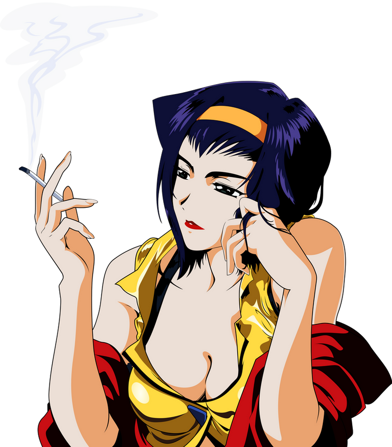Faye Valentine Vector By Mike Rmb On Deviantart