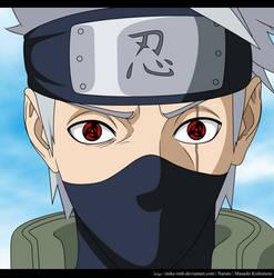 Kakashi the Sharingan - Naruto Chapter 688 by mike-rmb