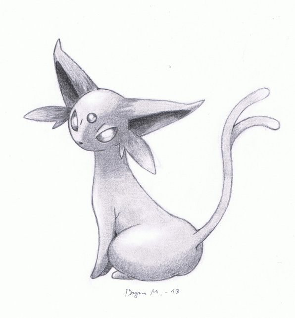 Espeon (Pokemon) by MarkusBogner