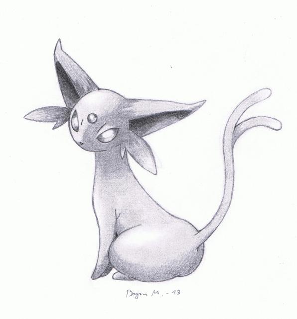 Espeon (Pokemon) by SukramRengob