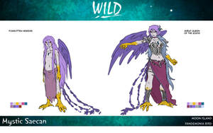 Ref : Mystic Saecan by Royal-Flan