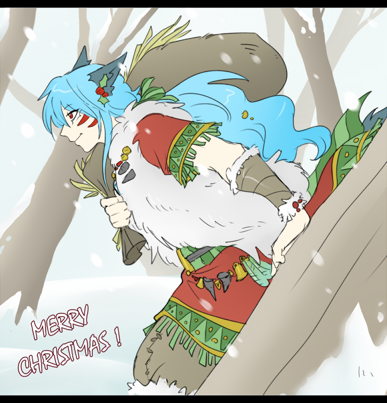 .: Merry Christmas :. by Pink-Tails