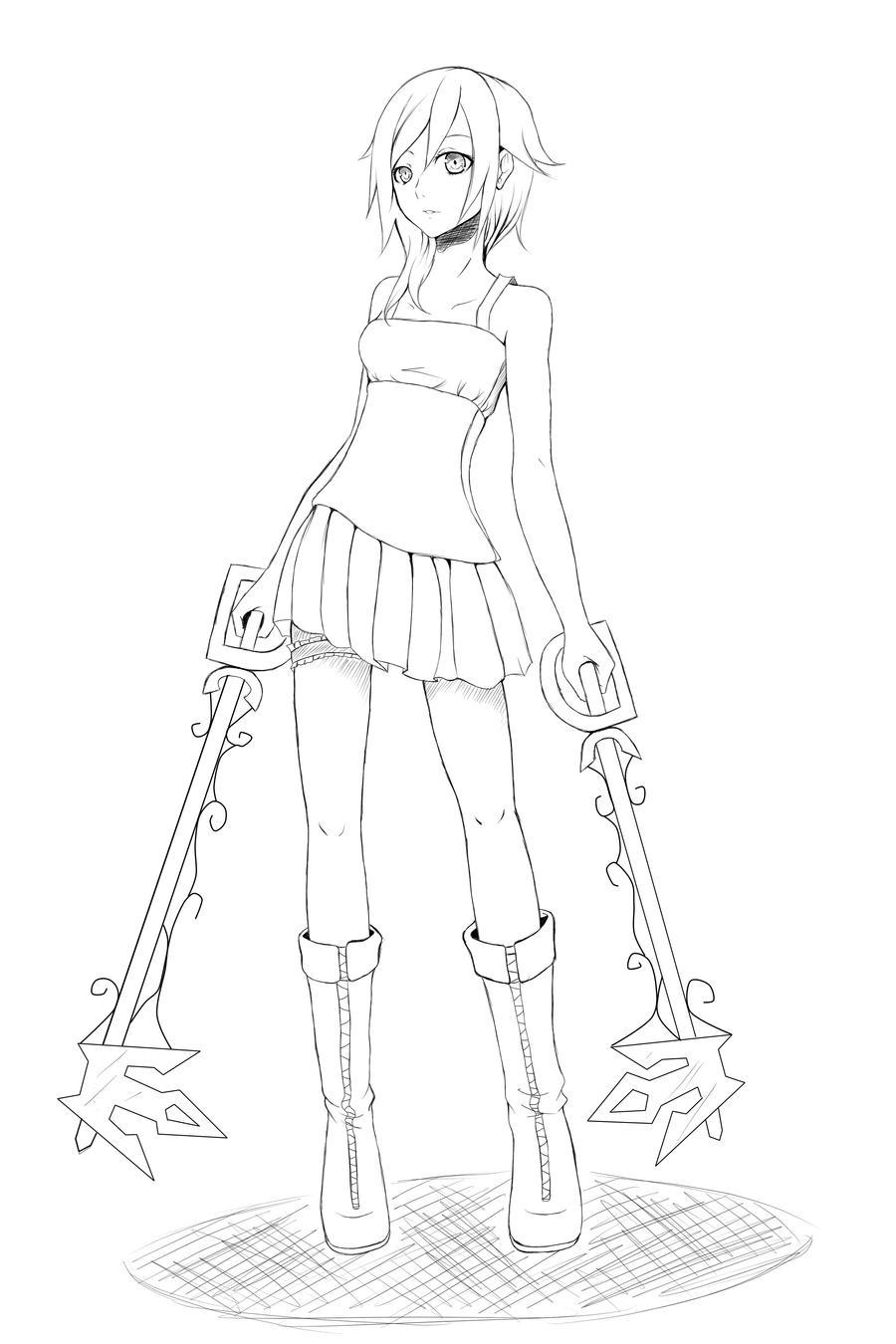 Namine by AzureBladeXIII on DeviantArt