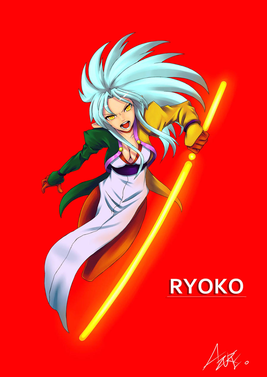 COMMISSION Ryoko by AzureBladeXIII