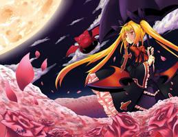 Under The Moonlight by AzureBladeXIII
