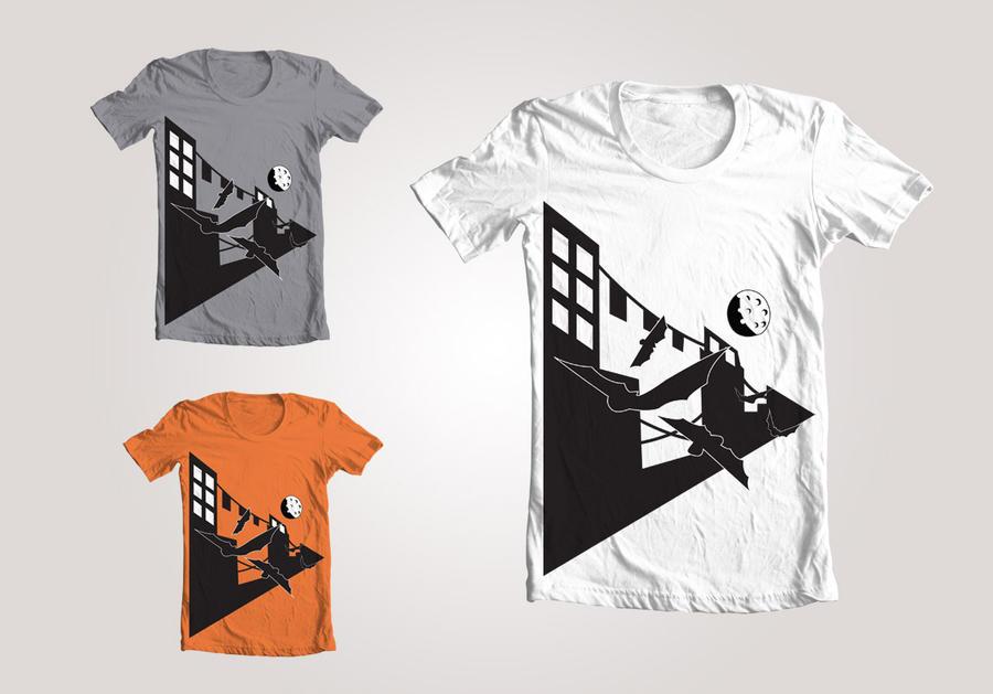 Creatures of the Night shirt design by AzureBladeXIII