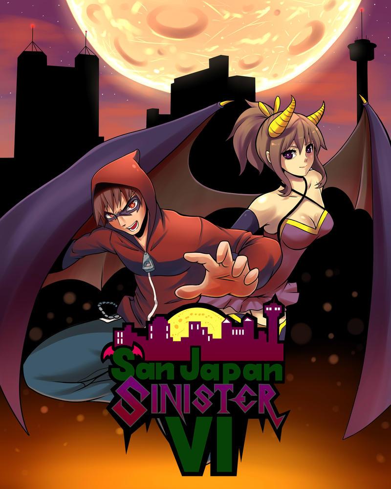 San Japan Sinister 6 by AzureBladeXIII